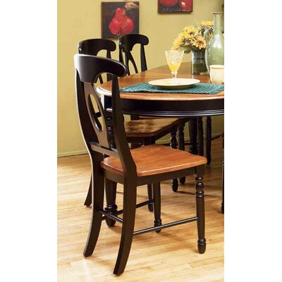 A-America British Isles Napoleon Side Chair (Set of 2)