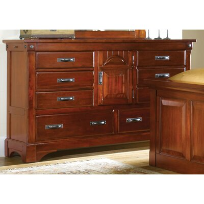 A-America Kalispell 8 Drawer Combo Dresser