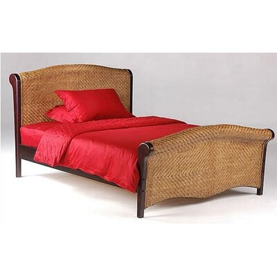 Night & Day Furniture Spices Rosebud Sleigh Bed