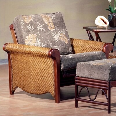 Rattan Floral Rosebud Futon Chair Frame Wayfair