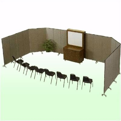 ScreenFlex Commercial Edition Portable Training Room