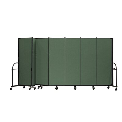 ScreenFlex Heavy Duty Seven Panel Portable Room Divider