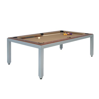 fusiontables by Aramith Fusiontables Powder Coated Steel 7' Pool Table