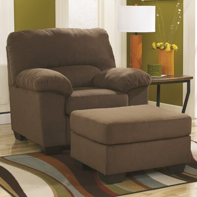 Paragon Chair and Ottoman