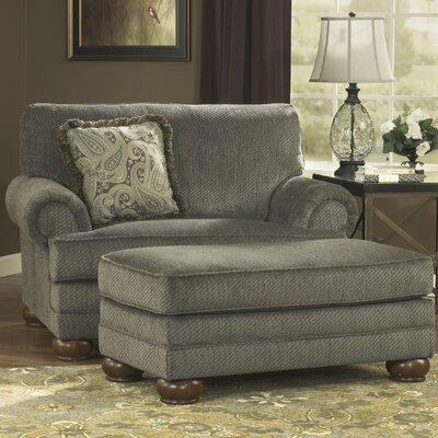Hatton Chair And A Half And Ottoman Wayfair
