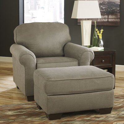 Danely Arm Chair and Ottoman