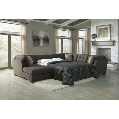 Delta City Left Sleeper Sectional Wayfair