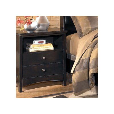 Menard 2 Drawer Nightstand