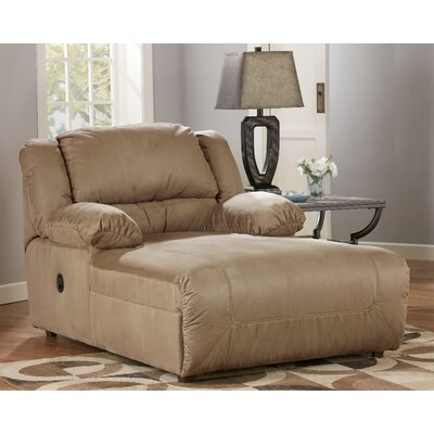 Double chaise lounge indoor furniture - Signature Design By Ashley Rudy Chaise Recliner Amp Reviews Wayfair