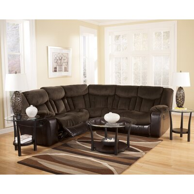 Signature Design by Ashley Bay Reclining Sectional
