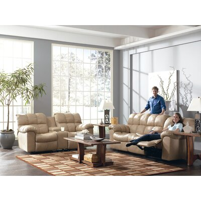 Signature Design by Ashley Valley Leather Reclining Sofa