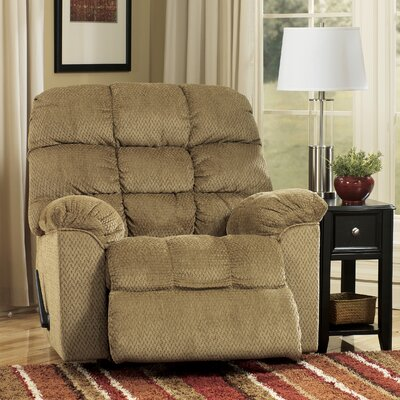 Signature Design by Ashley Gaines Chenille Chaise Recliner