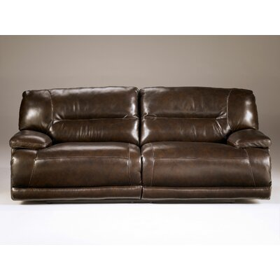 Signature Design by Ashley Venice Leather Reclining Sofa