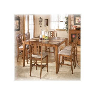 Signature Design by Ashley Trent 7 Piece Counter Height Pub Set