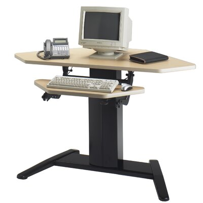 "Mayline Group VariTask XR Dual Surface Corner Unit 48""W x 30"" D Computer Table"