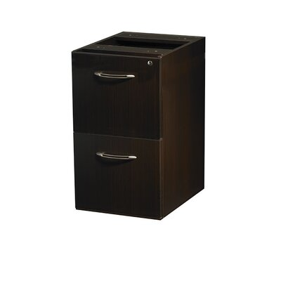 Mayline Group Aberdeen Series 2-Drawer Mobile Pedestal