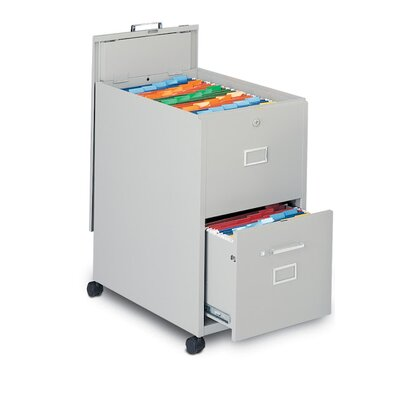 Mayline Group 2-Drawer Mobile Legal Size File