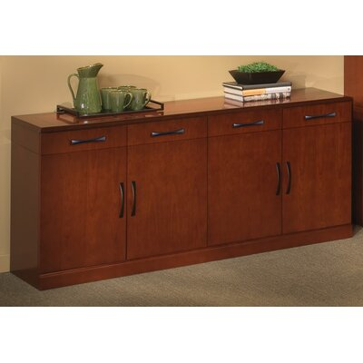 """Mayline Group Sorrento Series 72"""" Buffet Cabinet"""