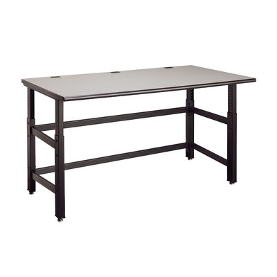 Mayline Group Techworks Adjustable Utility Table with Worksurface