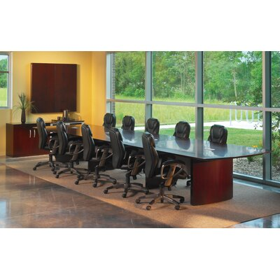 Mayline 20' Napoli Conference Table