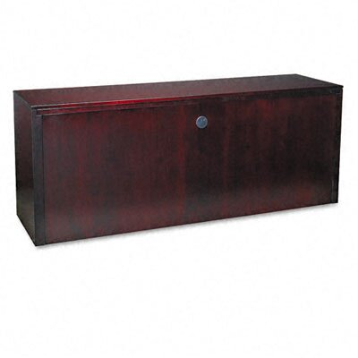 Mayline Group Corsica Series Credenza, 72W X 20D X 29-1/2H, Mahogany Frame/Top