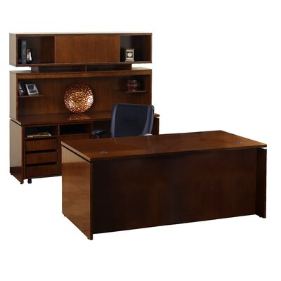 Mayline Group Stella Typical Standard Executive Desk Office Suite
