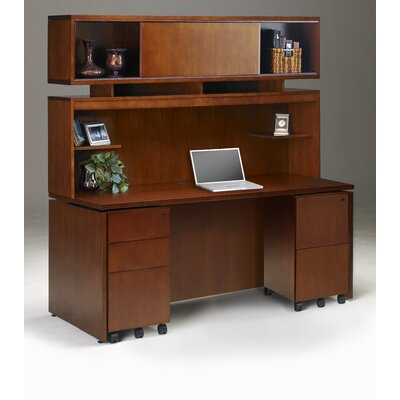 Mayline Group Stella Typical Standard Desk Office Suite 21