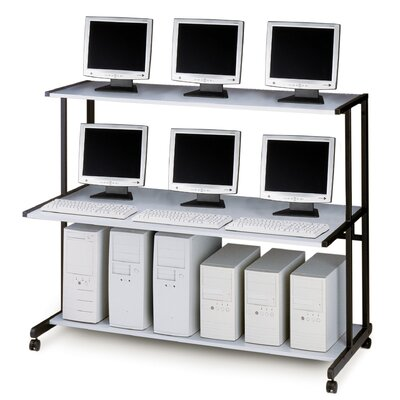 "Mayline Group NetStart LAN Support Stations: 60"" W LAN Station"