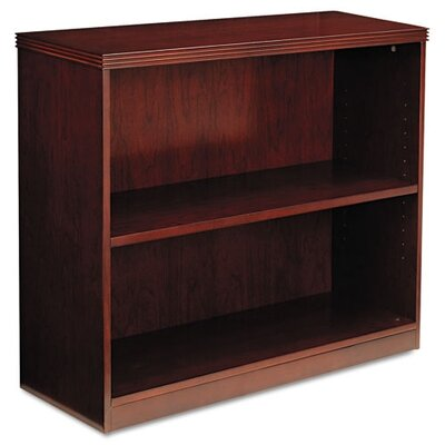 Mayline Group Luminary Series Veneer 2-Shelf Bookcase