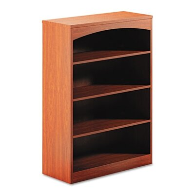 Mayline Group Brighton Series Laminate 4-Shelf Bookcase, 36W X 15D X 50 1/2H