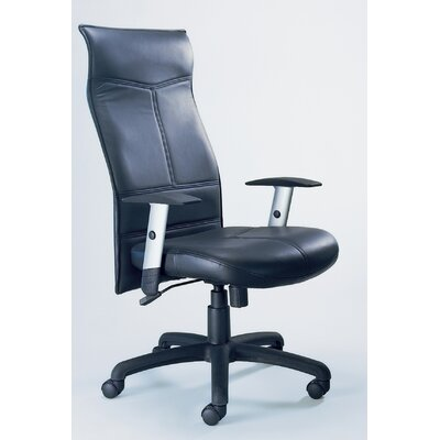 Mayline Mercado Silhouette High-Back Office Chair with Arms