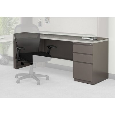 Mayline Group Credenza with 1 Box / Box / File