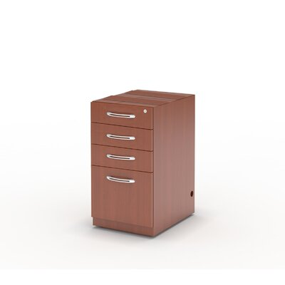 Mayline Group Aberdeen 1-Drawer Pencil/Box/Box/File Pedestal
