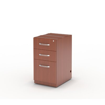 Mayline Group Aberdeen 3-Drawer Pencil/Box/File Pedestal