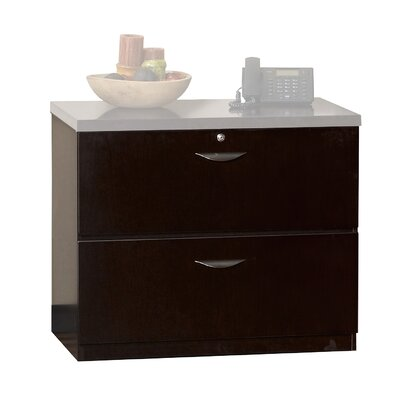 Mayline Group Mira Series 2-Drawer Lateral File
