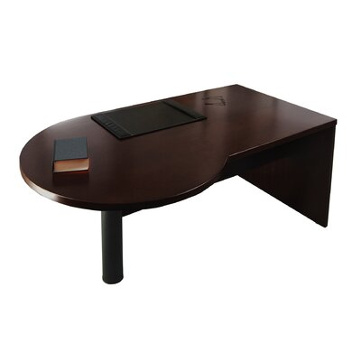 Mayline Group Mira P-Shaped Desk