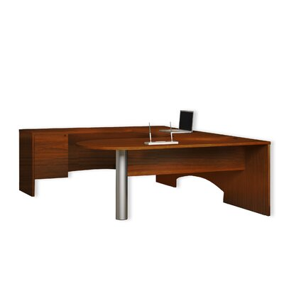 Mayline Group Brighton U-Shape Desk Office Suite