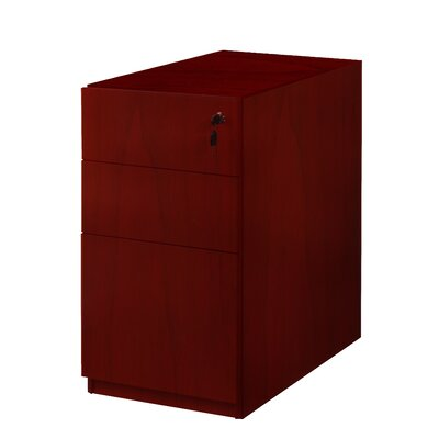 Mayline Group Luminary 3-Drawer File Pedestal