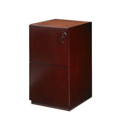Mayline Group Luminary Series 2-Drawer Pedestal Files