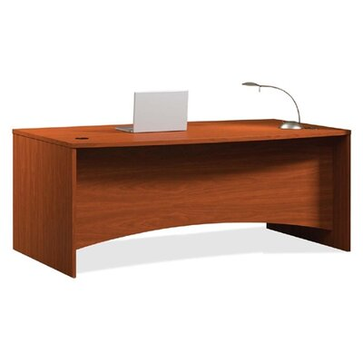 Mayline Group Brighton Bow Front Desk