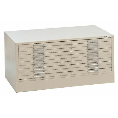 Mayline Group C-Files Ten Drawer Filing Cabinet