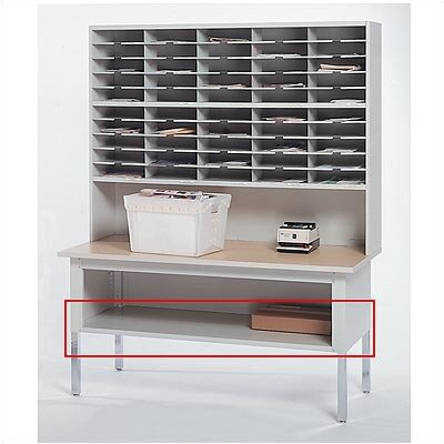 "Mayline Group Mailflow-To-Go: Shelf for 60"" W Work Table"