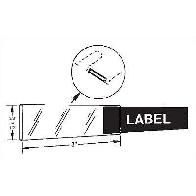 Mayline Group Mailflow-To-Go: Label Holders