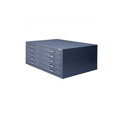 Mayline Group C-Files Five Drawer Flat File Filing Cabinet
