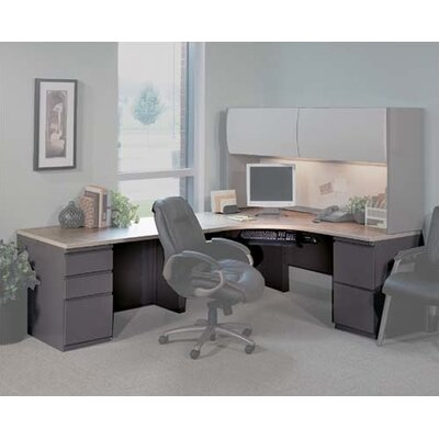 "Mayline Group CSII - 72"" W J-Table with 30"" D Right-Hand Return"