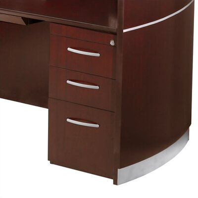 "Mayline Group Napoli 15.25"" W x 21.5"" D Desk Pedestal"