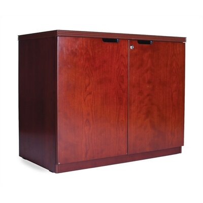 Mayline Group Luminary Two-Door Hinged Credenza