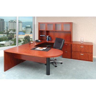 "Mayline Group Mira 72"" Peninsula Desk"
