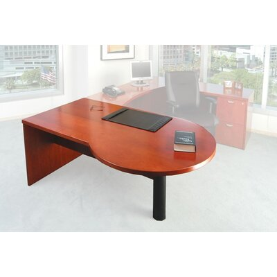 Mayline Group Mira P-Top Table (Left)