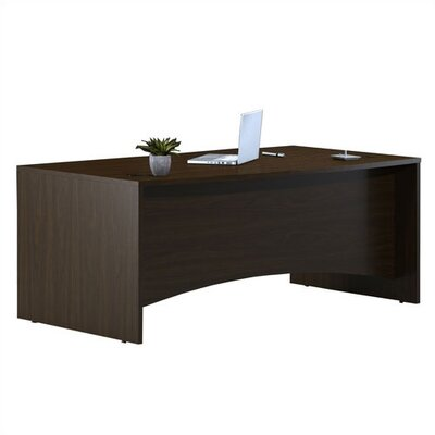 Mayline Group Brighton Rectangular Executive Desk